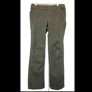 KUHL Brown Stretch Hiking Pants 10